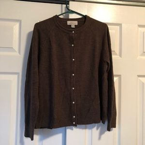 SOFT Size XL Knit by Hampshire Studio Button Down